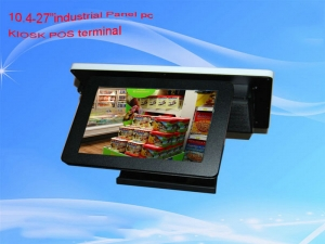 15'inch POS all  in one pc  kiosk