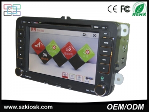 7 inch GPS Bluetooth android 4.4.4 quad core 2 din car pc