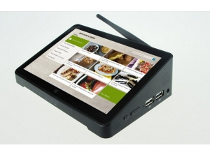 All in one fanless industrial touch screen mini pc with 1024*768P