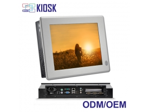 Industrial intel i3 i5 i7 touch screen all in one panel pc with computer  hardware for wholesale