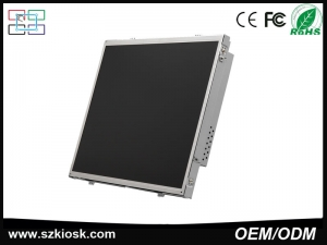ODM Open Frame Industrial monitor with VGA /AV/DVI/HDMI monitor