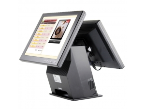 POS Machine 15 Inch System Touch Screen All in One POS