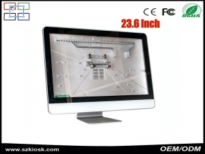 hot sale 19-27inch capacitive touch screen all in one PC i3/i5/i7