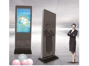 protable durable and simple high tech quality glass custom animations multi touch screen magic mirror