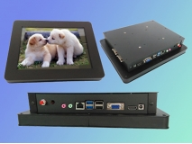 China 10.4 inch touch industrial all in one pc factory