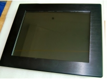 China 12.1 industrial touch Panel PC with fanless intel chipset factory