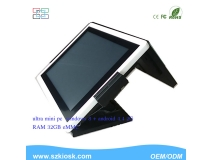 15 '' Inch All in One PC  Dual Screen POS PC