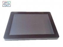 China 15'inch LCD touch screen monitor factory