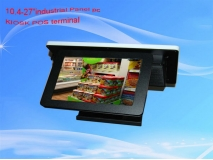 China 15'inch POS all  in one pc  kiosk factory