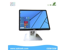 15 inch waterproof all in one pc desktop computer support  wifi