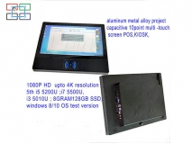China 15.6inch 1080P HD 4K resolution capacitive touch screen windows8/10 factory