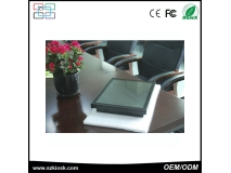 China 17 inch H61-I3 4 wire resistive touch screen panel pc factory