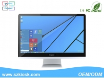 21.5'' inch HD wall mounted all in one PC cheapest tablet pc