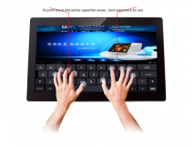 23.6 inch IR touch all in one pc