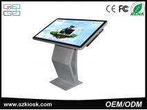 China 49inch high brightness stand alone LCD indoor advertising digital signage with touch screen factory