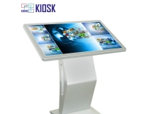 43inch capacitive touch kiosk with tilt stand install Nvidia 2080TI indedcate card,8700 i7 64GB RAM 512GB SSD