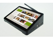China All in one fanless industrial touch screen mini pc with 1024*768P factory
