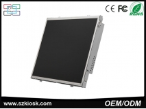 China ODM Open Frame Industrial monitor with VGA /AV/DVI/HDMI monitor factory