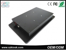 "China OEM/ODM 17"" Waterproof touchscreen Fanless Industrial Panel PC factory"
