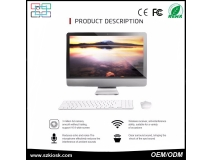 China high quality  all in one computer 21.5 inch Intel core i3 capacitance  cheap touchscreen all in one pc factory
