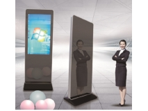 La fábrica de China protable durable and simple high tech quality glass custom animations multi touch screen magic mirror