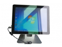 waterproof computer for hospitals easy clean, protection against chemical on touch screen  explosionproof glass i5 cpu
