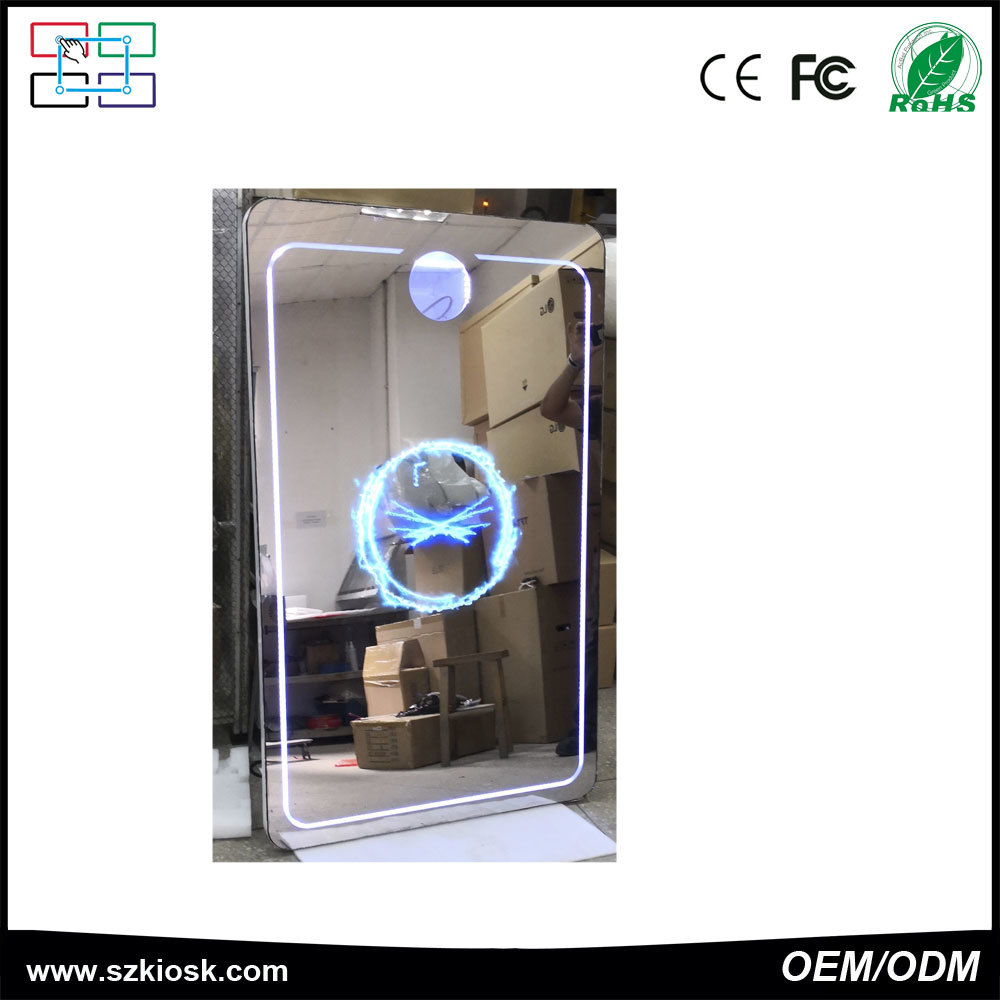 40 in selfie mirror touch screen rental social  photo booth